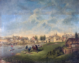 Early-painting-of-Perth-from-Museum-Recovered